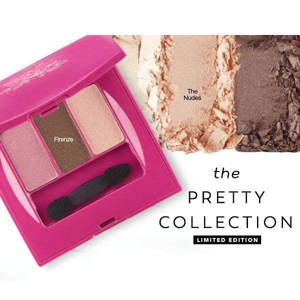Jafra Lidschatten Trio Pretty Collection