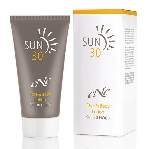 CNC SUN Face & Body Lotion SPF 30